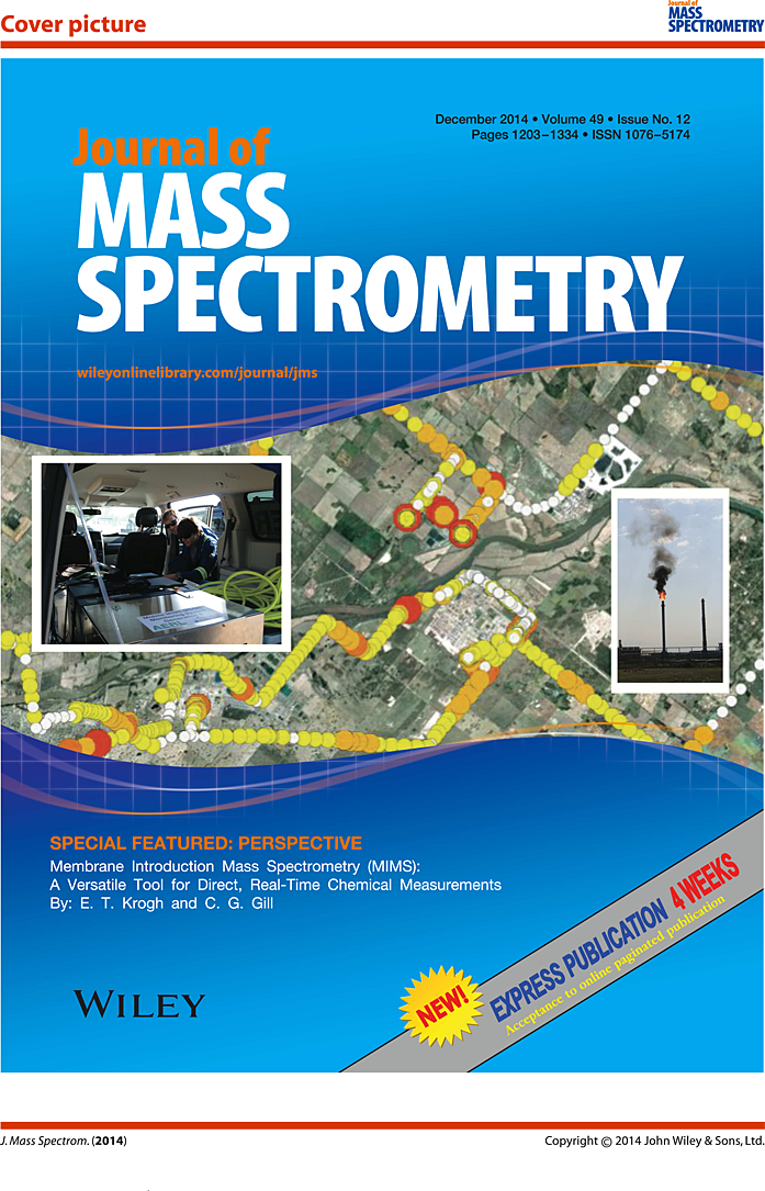 Journal of Mass Spectrometry Cover Page