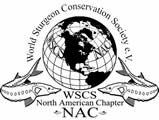 World Sturgeon Conservation Society North American Chapter logo